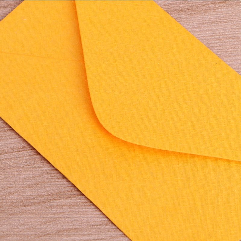 50Pcs Colorful New Retro Blank Mini Paper Envelopes Wedding Party Invitation Greeting Cards Gift 2
