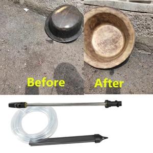 Image 2 - Nat Zand Blaster Druk Pistool Slang Waterleiding Voor Karcher/Lavor/Huter/Sterwins/Nilfisk/Kew m22 Wand Zandstralen Buis Auto Wasmachine