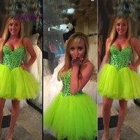 Luxury Short Homecoming Dresses for Girls Tulle Women Cocktail Prom Grade 8 Graduation Dresses