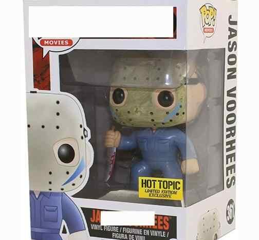 Horror film piątek 13th Jason Voorhees 611 #202 # PVC figurki zabawki cztery główne zabójców 361 #01 # model kolekcjonerski Doll prezent