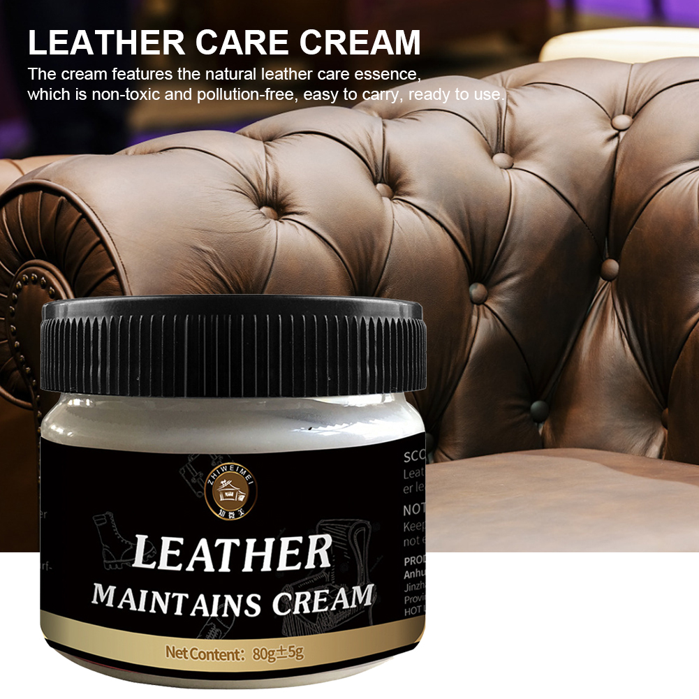 Leather Refurbishing Cleaner Repair Cream For Car Seat Sofa Leather Clothes Pants Bags Leather Repair Tool Restoration Car Care