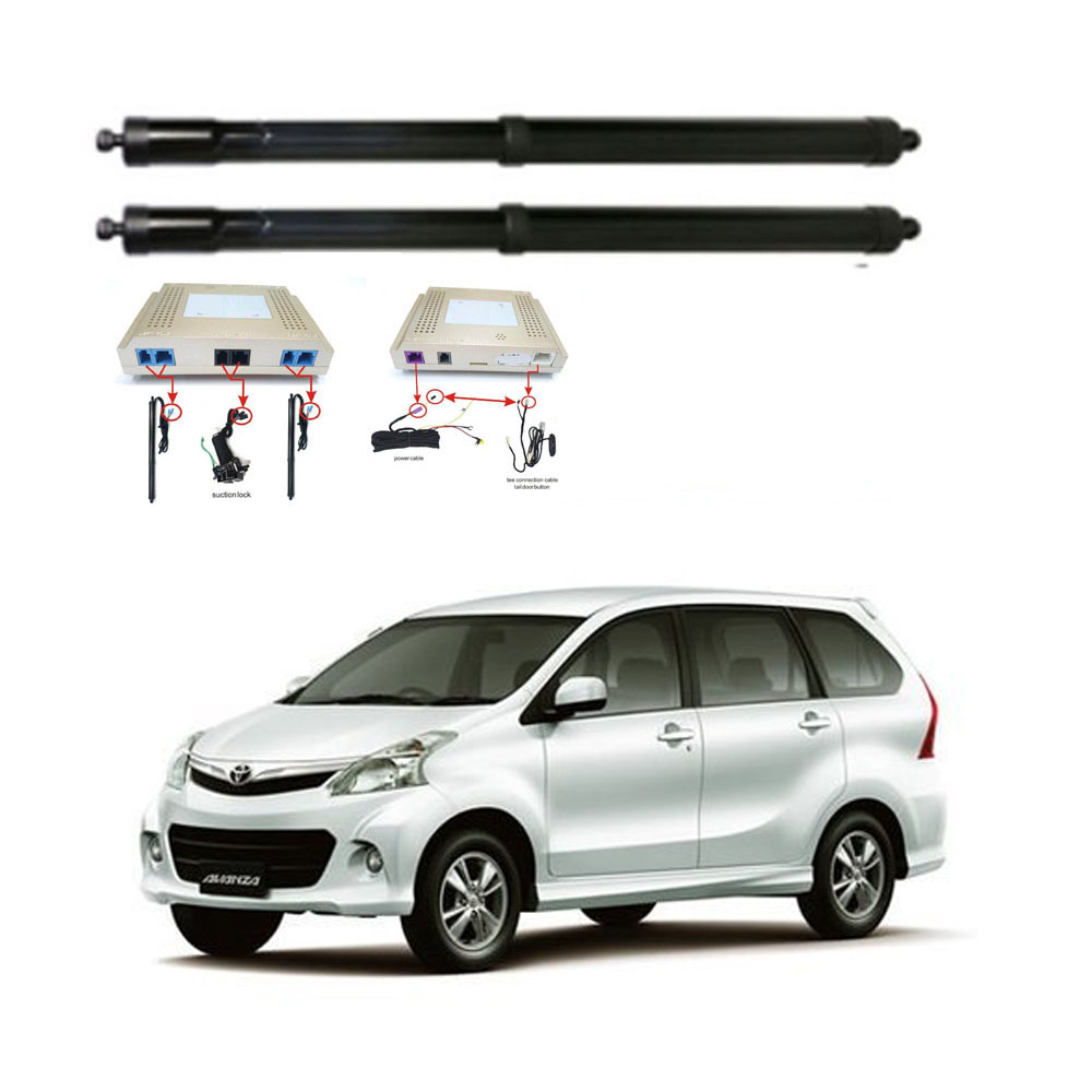 New Electric Tailgate Refitted For Toyota AVANZA 2017 Tail Box Intelligent Electric Tail Door Power Tailgate Lift Lock