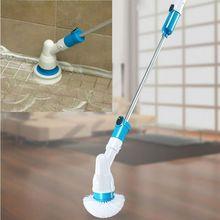 Регулируемая турбо-скраб для зарядки, водонепроницаемая электрическая щетка для чистки, беспроводная, для ванной, кухни, дома, инструменты