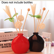 Purifying Air Diffuser Sticks Set Portable Rattan Reed Living Room Oil Wood Fragrance Wedding Replacement Part DIY (No Bottle) цены