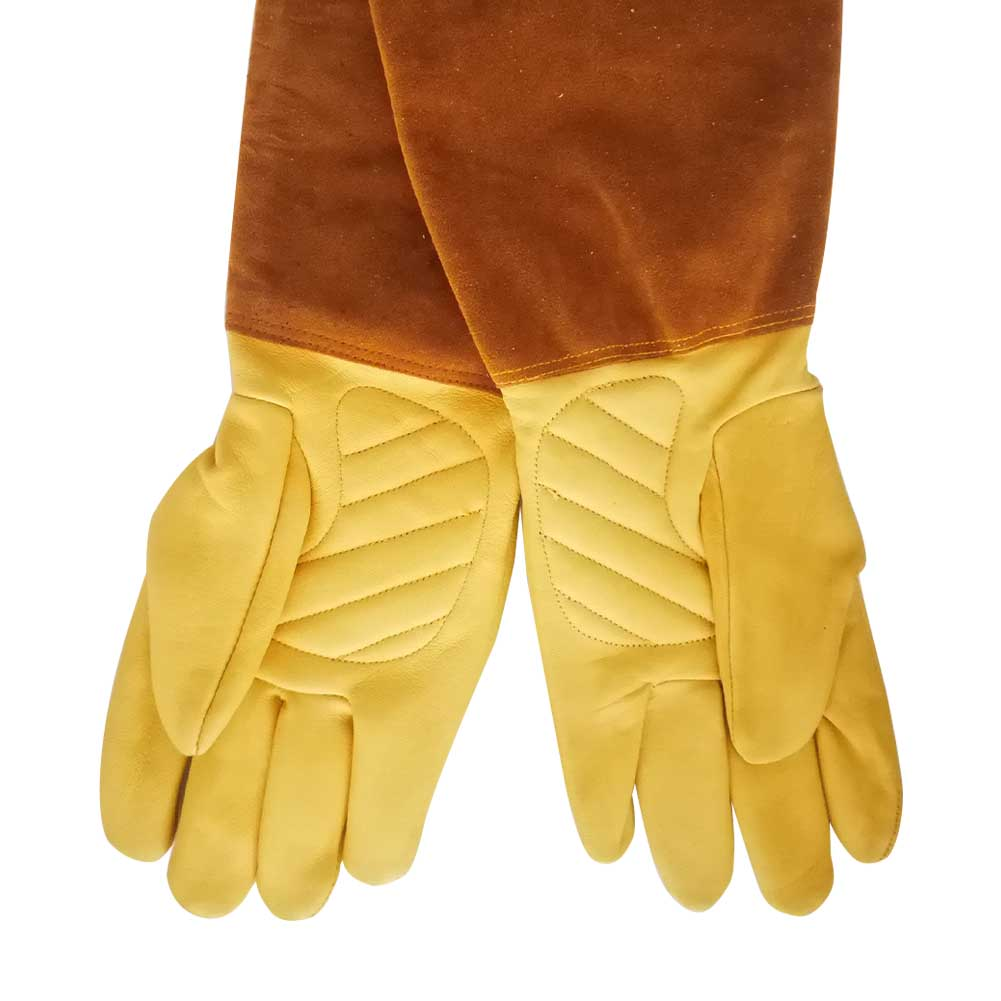 Rose Pruning Non Slip Puncture Resistant Beekeeping Gardening Gloves Cut Proof Protective Working Soft Long Sleeve Thorn Welding
