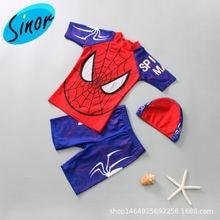 Детские шорты для мальчиков плавания Разделение костюм маленьких
