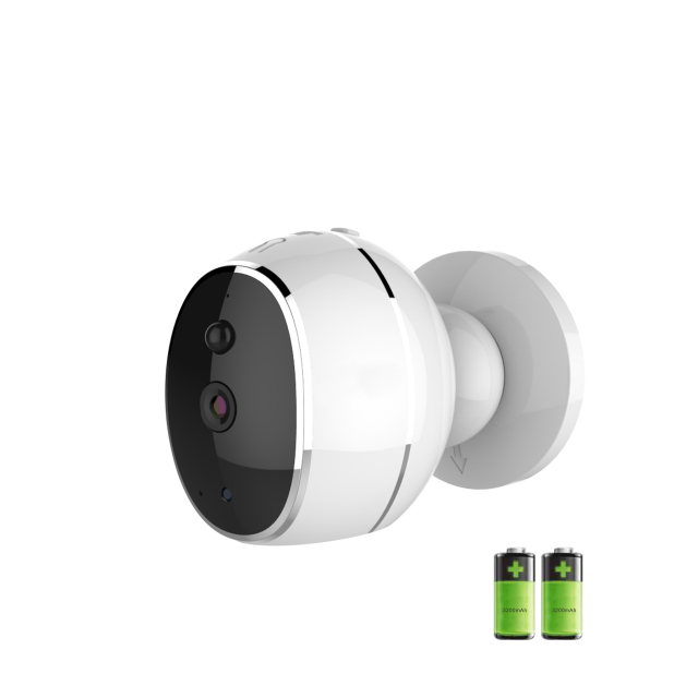 Battery Powered Low consumption Security camera wifi Wireless PIR Motion detection  alarm 8 months for home warehouse