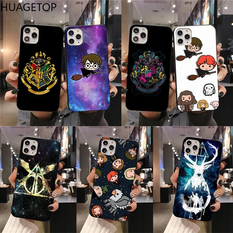 Harries Potter Cartoon Movie Design Phone Case for iphone 12 pro max 11 pro XS MAX 8 7 6 6S Plus X 5S SE 2020 XR case