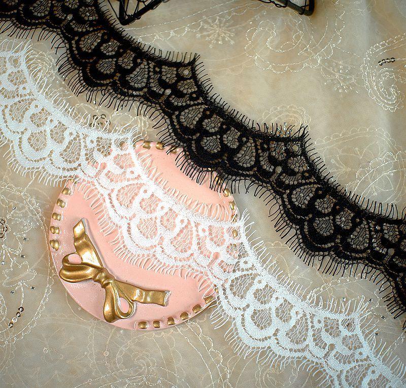 9 м/лот черно-белая кружевная ткань для ресниц «сделай сам» Аксессуары для одежды кружевная отделка ширина 4,5 см