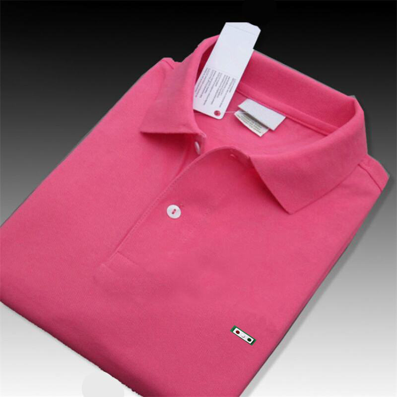 Top Quality 100% Cotton 2020 Fashion Brand Men's Short Sleeve Polos Shirts Casual Solid Color Male Polos Shirts XS-4XL Mens Tops