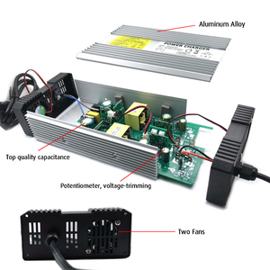 Image 5 - Зарядное устройство YZPOWER для литиевых батарей 100,8 в, 4 а, подходит для литиевых батарей 88,8 В, 24S, упаковка, алюминиевый корпус и дополнительная вилка