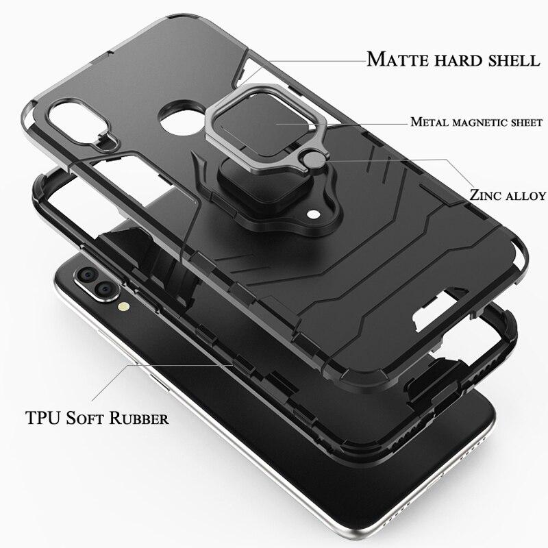 Shockproof Armour Case Xiaomi Mi 9T Pro Mi9 SE 8 Lite CC9 CC9E Play - მობილური ტელეფონი ნაწილები და აქსესუარები - ფოტო 6