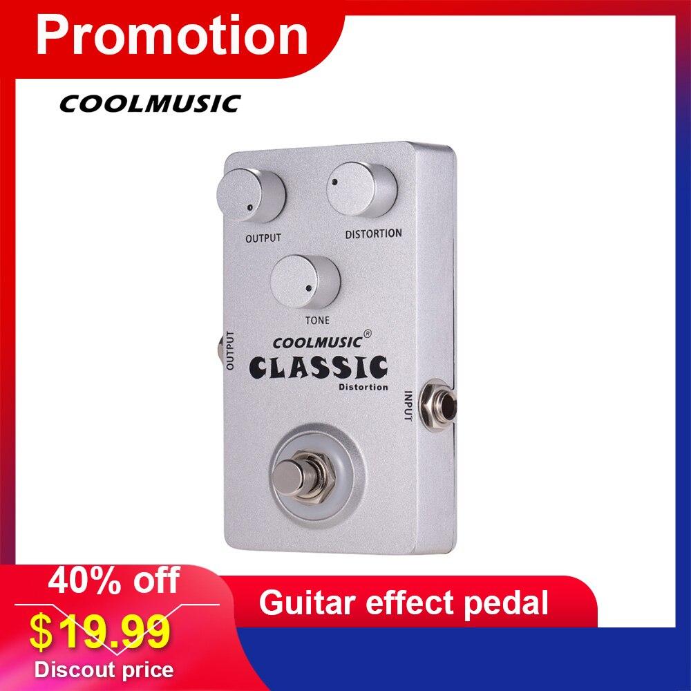 COOLMUSIC Fuzzster distorsion guitare effet pédale adaptateur d'alimentation guitare basse effet de pédale pour guitares électriques accessoires de guitare