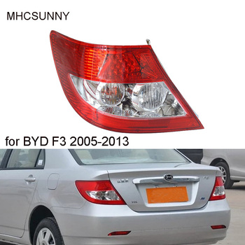 Tail Light LED For BYD F3 2005-2013 Rear Bumper Taillight Tail Brake Lamp Tail Lamp Assembly