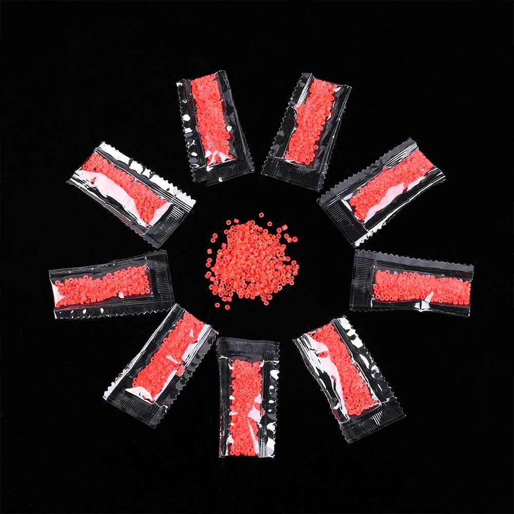 200 Cái/túi Bền Đỏ Cao Su Đàn Hồi Nguyên Vòng Dây Cao Su Cho Huyết Ngải Mồi Granulator Mồi Câu Cá Chống Phụ Kiện