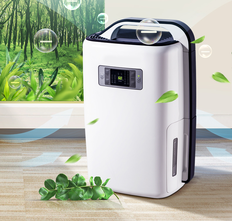 20L/D Air Dehumidifier Household Silent Bedroom Dehumidifier Villa Basement Drying Dryer Moisture N20A3