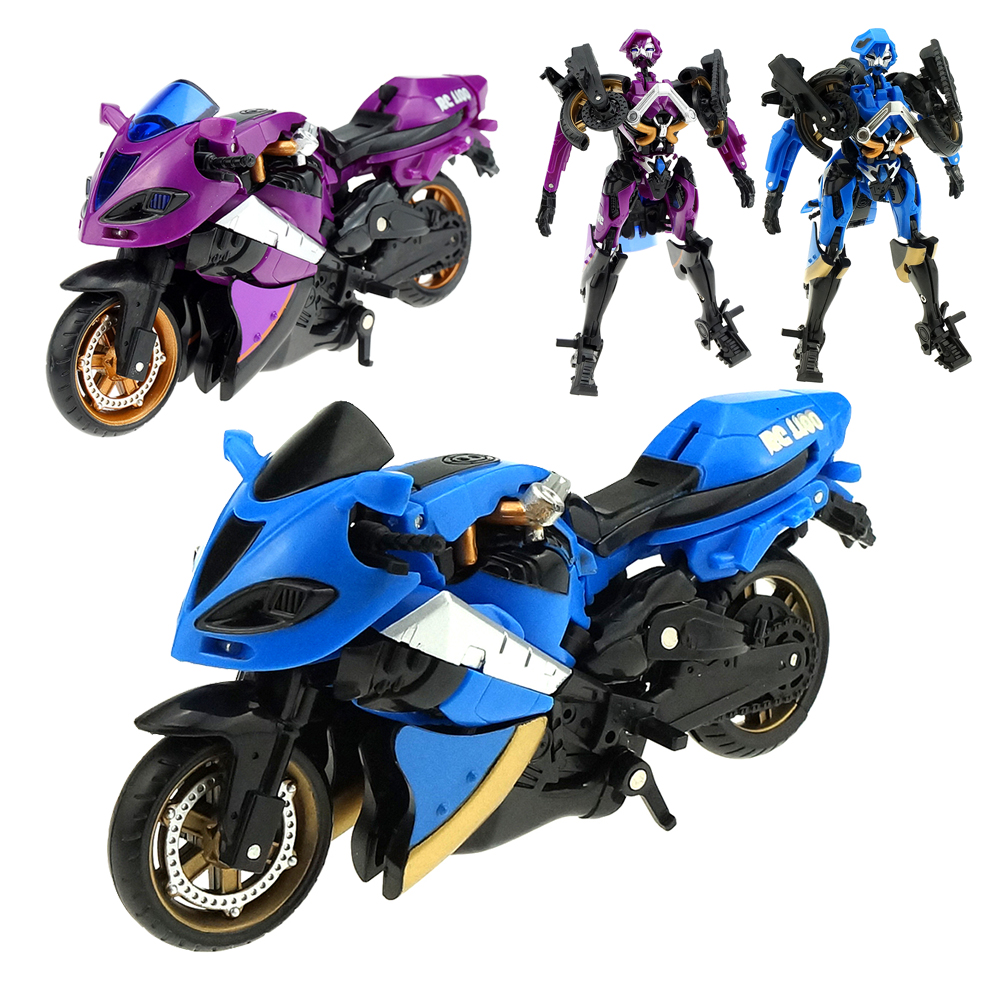 Carroll Knight Of The Universe Transformation Motorcycle Tranmech Autocycle Deformation Toy