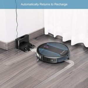 Image 5 - Coredy R500+ 1400pa Vacuum Cleaner Cleaning Robot Mop Wet Dry Smart Carpet Floor Robot aspirador Home Dust Cleaner auto charging