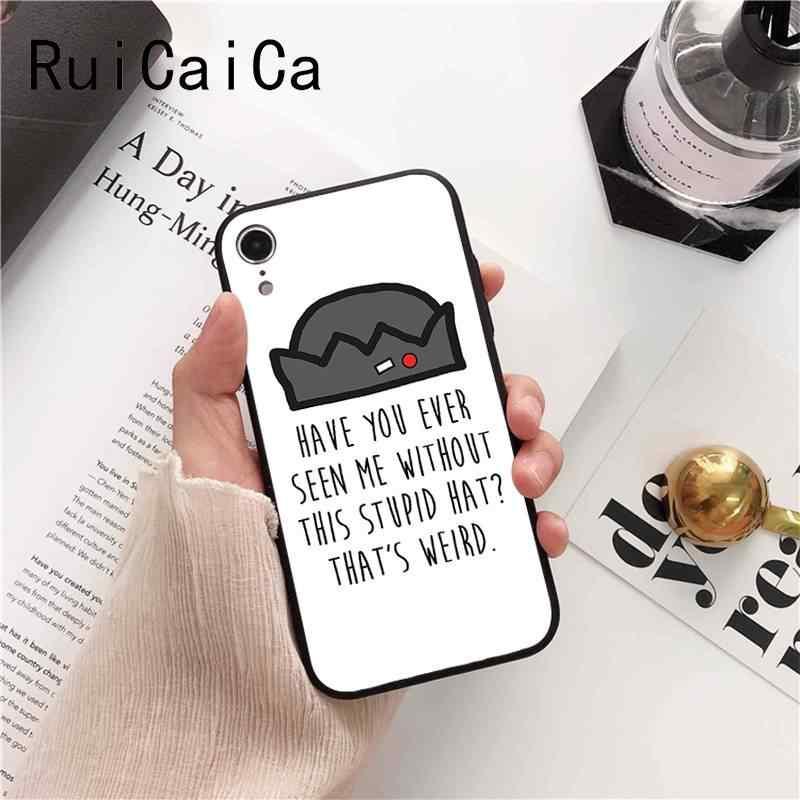 Ruicaica Американский ТВ ривердейл серии Коул спрайз логотип черный ТПУ мягкий телефон чехол для iphone 8 7 6 6S 6plus X XS MAX 5 5S SE XR
