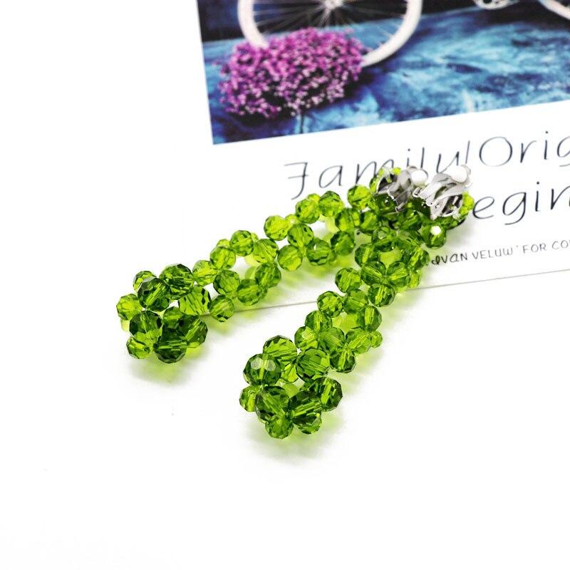 Zwpon Weave Glass Beaded Ball Dangle Earrings Cascade Earrings 2019 Fashion Designer Earrings Jewelry Christmas Gifts Wholesale Shop The Nation