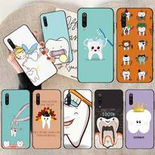 PENGHUWAN Dentist Teeth Tooth Soft black Phone Case for Xiaomi Mi9 9SE 8SE Pocophone F1 Mi8 Lite(China)