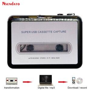 Image 1 - Kaseta USB odtwarzacz taśmy do MP3 konwerter przechwytywania Adapter odtwarzacz muzyki Audio taśma kaseta USB magnetofon kasetowy i odtwarzacz