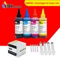 INKARENA набор чернил для принтера на 4 бутылки + PGI2400 XL Совместимый картридж для Canon PGI 2400 XL MAXIFY MB5140 MB5340 MB5440