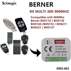 Image 5 - Universal garage gate receiver HORMANN BERNER MARANTEC SOMMER Remote Control 433 MHz 868 MHz Receiver 300 900mhz Multi Frequency