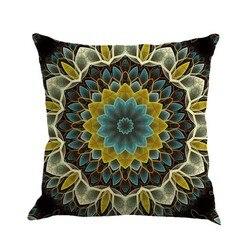 Czeski poszewka na poduszkę geometryczna poszewka na poduszkę bawełniana pościel etniczna poszewka na poduszkę sypialnia 45x45 poduszki