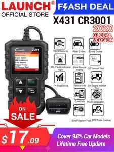 Code-Reader Car-Diagnostic-Tool Engine-Light Launch X431 Full-Obd2-Scanner ELM327 CR3001