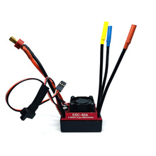 Wind Gallop RC CAR Waterproof 60A RC Brushless ESC BEC Car Parts Electric Speed Controller with 5.5V 3A BEC for1/10 RC Car Truck gleagle cloud 100a brushless w o bec esc rc speed controller for brushless motor rc helicopter rc airplane