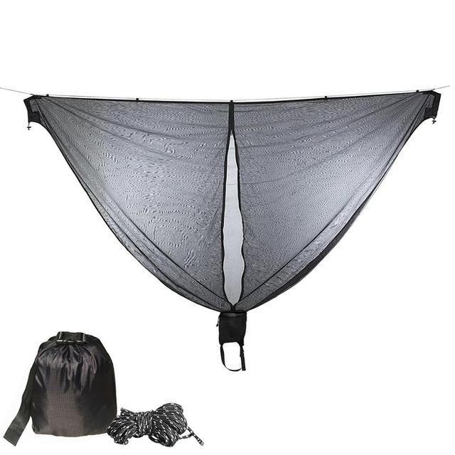 Portable Hammock Mosquito net Camping Survival Garden  Hunting Leisure Hamac Travel Double Person Hamak