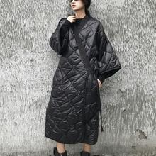Lanmrem 2020 新秋と冬日本スタイルバットウィングスリーブルーズビッグサイズ綿のコートの女性のウインドブレーカーJD18601