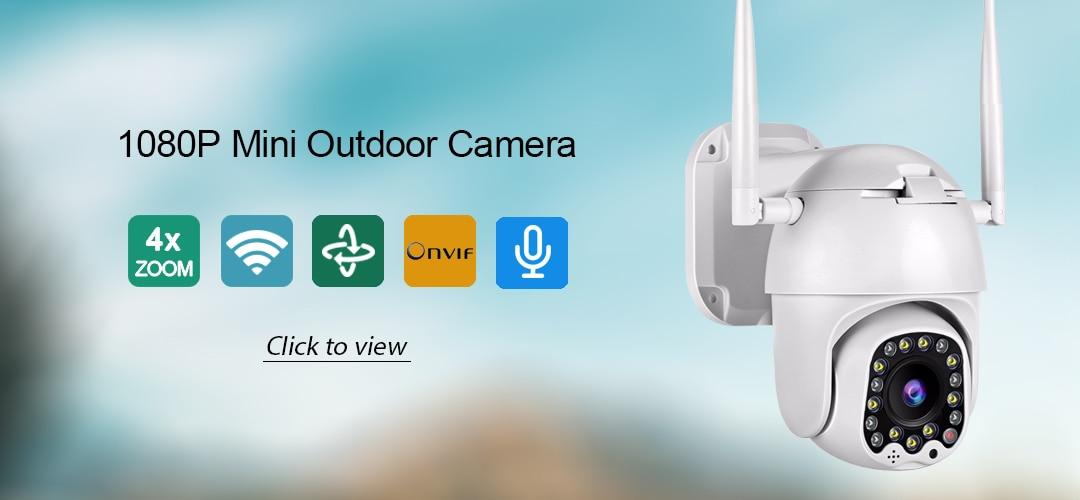 Hcc7c0f76f85d482286de268d15274dccw BESDER 1080P 720P Home Security IP Camera Two Way Audio Wireless Mini Camera Night Vision CCTV WiFi Camera Baby Monitor iCsee