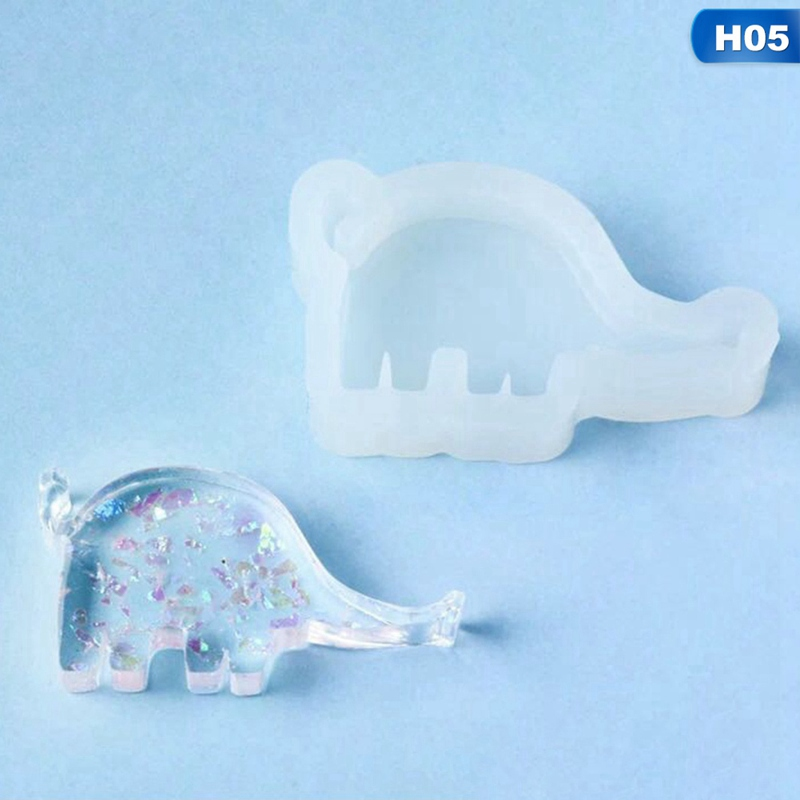 Silicone Resin Mold Jewelry Tools Cat Rabbit Deer Dolphin DIY Epoxy Resin Molds Seahorse Giraffe Crown Shape