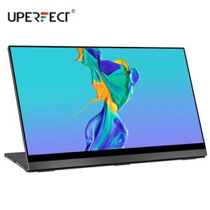 UPERFECT 4K Portable Monitor Touchscreen Gravity Sensor Automatic Rotate 15.6'' Slimmest 10-Point Touch UHD 3840x2160 Display