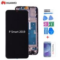 Huawei P Smart 2019 LCD 디스플레이 (P 스마트 2019 수리 부품 용 프레임이있는 터치 스크린 디지타이저 어셈블리 포함)