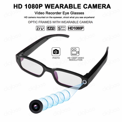 New Outdoor Sports Smart Glasses HD 1080P Mini Camera Glasses Driving Video Recorder Intelligent Kamera UVC OTG for Android 4.0+