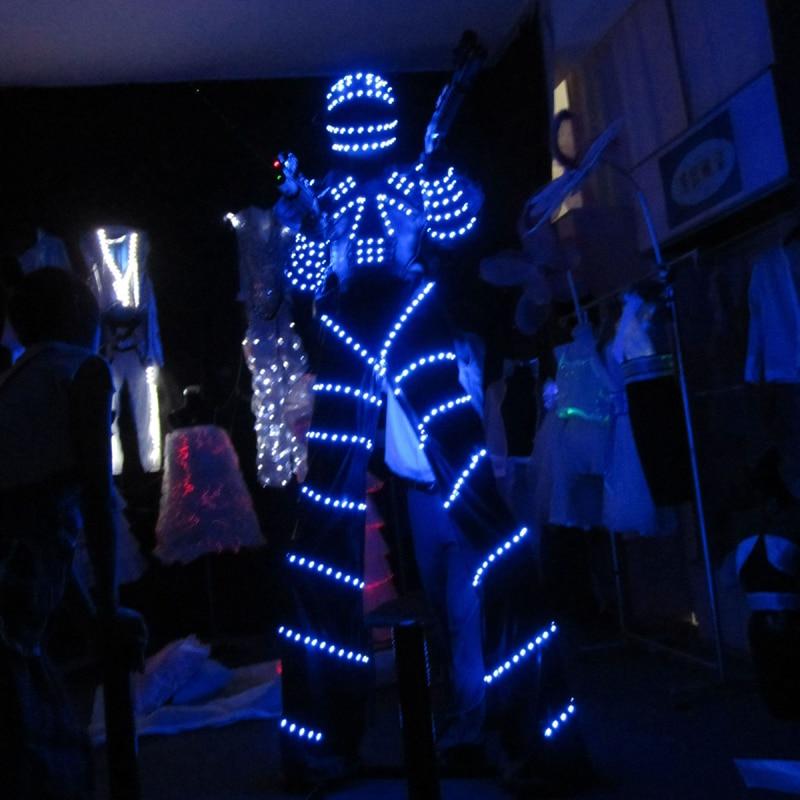 ZLED Clothing/Light Suits/LED Costume / LED Robot Suits/ Luminous Costume/ Led Lights Costumes