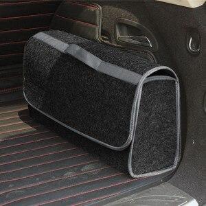 Image 5 - Портативная Складная Многофункциональная войлочная ткань, складная коробка для хранения, органайзер, чехол, ящик для инструментов, коробка органайзер в автомобиль, автомобиль, грузовик