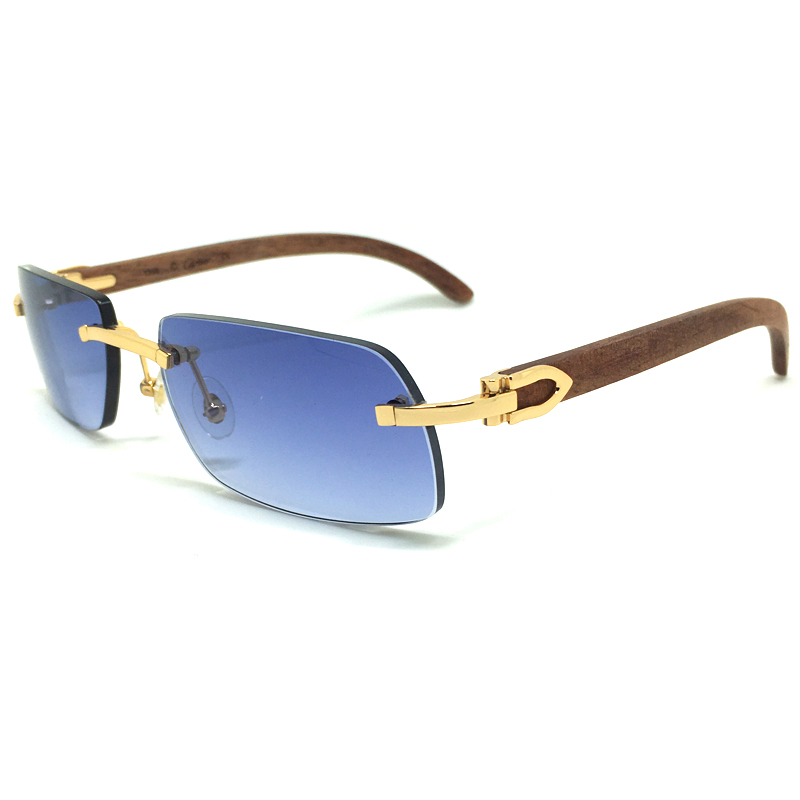 Luxury Mens Sunglasses 2020 Trending Products Brand Desinger Sun Glasses Wood Shades For Women Buffalo Horn gafas de sol