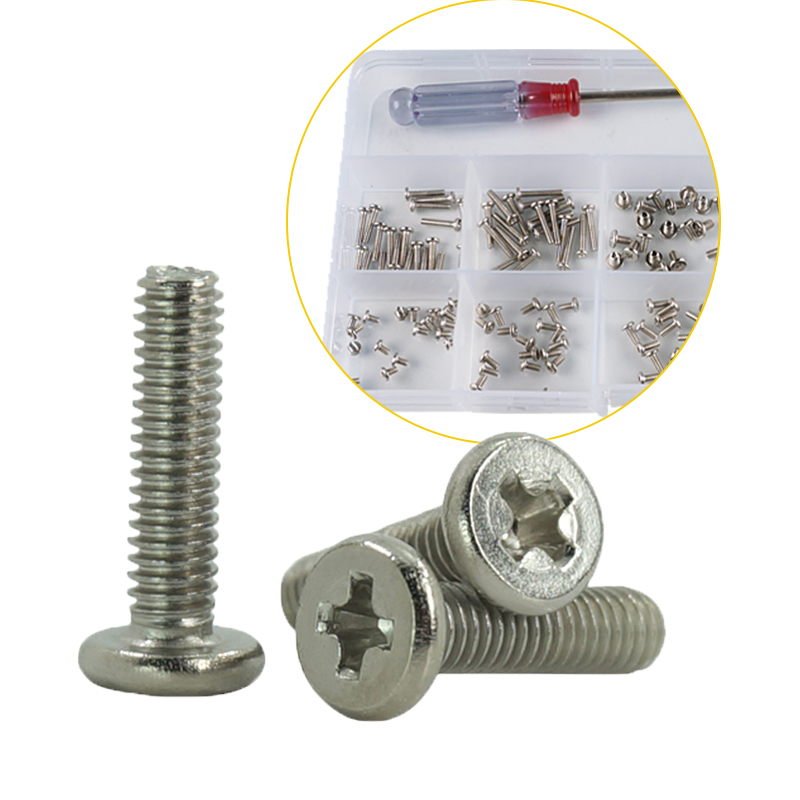 Image 5 - luchang Laptop Notebook Nickel Screws Set Computer Electronic Digital Mini Mechanical Assortment Repair Kit Hardware-in Screws from Home Improvement