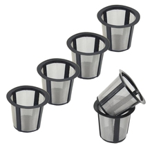 Coffee Machine Accessories Are Suitable for Keurig Cuisinart Filter , Reusable Filter Replacement, 8 Pieces