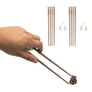 Image 4 - Palillos de entrenamiento antideslizantes que ayudan a comer individualmente