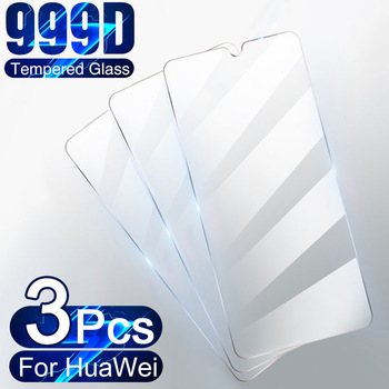 3Pcs Tempered Glass For Huawei P30 P40 Lite P20 Pro P10 P Smart 2019 Screen Protector Glass For Huawei Mate 30 20 Lite P30 Film 1