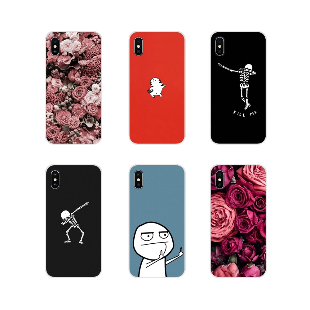 meme face Middle Finger Funny Lovers For Huawei G7 G8 P7 P8 P9 P10 P20 P30 Lite Mini Pro P Smart Plus 2017 2018 2019 Phone Cover image