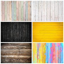 Laeacco Wood Background For Photography Planks Board Hardwood Texture Party Baby Pattern Photo Backdrop Photocall Photo Studio