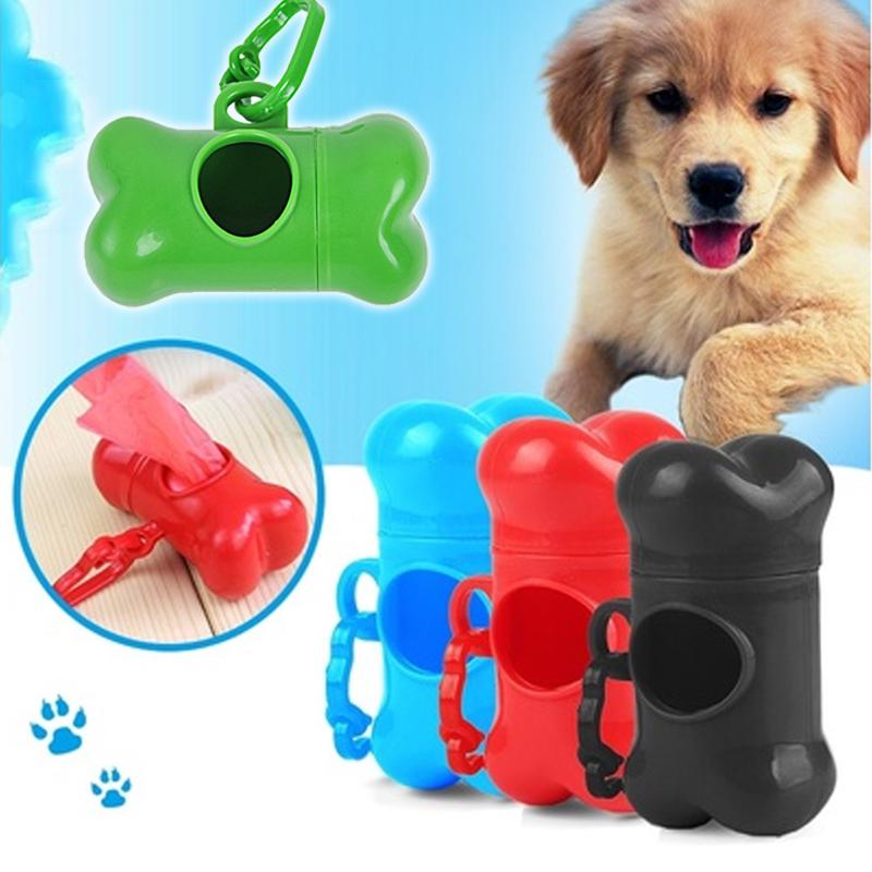 font b Pet b font Dog Waste Poop Bags Dispenser Bone Shape font b Pet