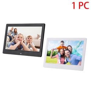 Image 2 - Электронный альбом 10,1 дюйма, карта памяти, подарок, музыка, дистанционное управление, фотопроигрыватель, мультимедиа, будильник, цифровая фоторамка