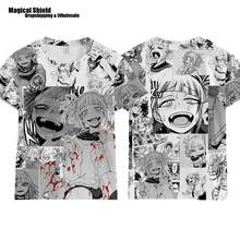 Костюм для косплея аниме «Моя геройская Академия» футболка Фуни